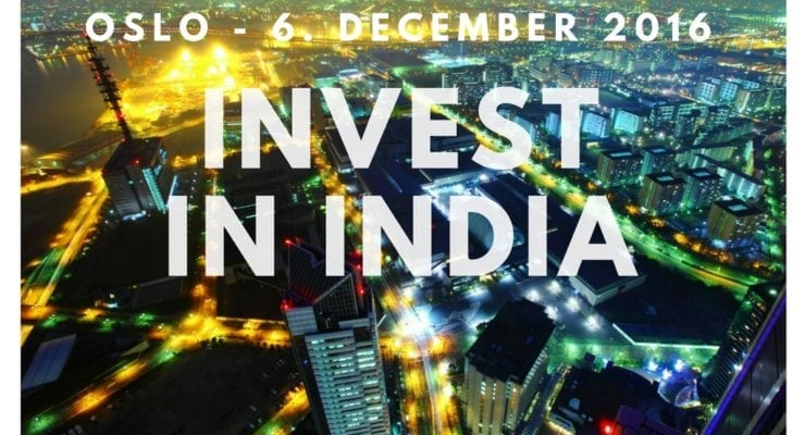 "Member event 6th December ""INVEST IN INDIA 2016"""