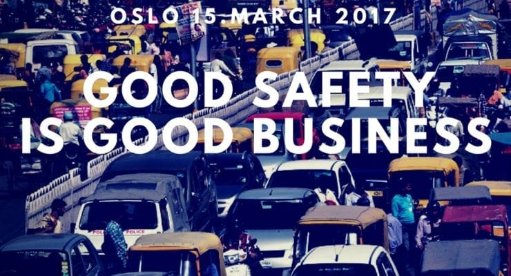 "NICCI event Oslo 15th March: ""Good safety is good business"""