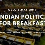 """""""Indian politics for breakfast"""" member meeting co-organized with UiO"""