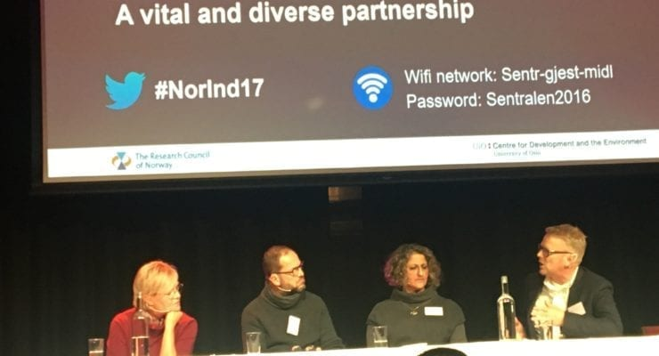 NICCI represented at conference on Norway and India Research Cooperation