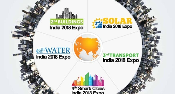 "Meetup at ""Smart Cities India 2018 Expo"" in Delhi 24. May"