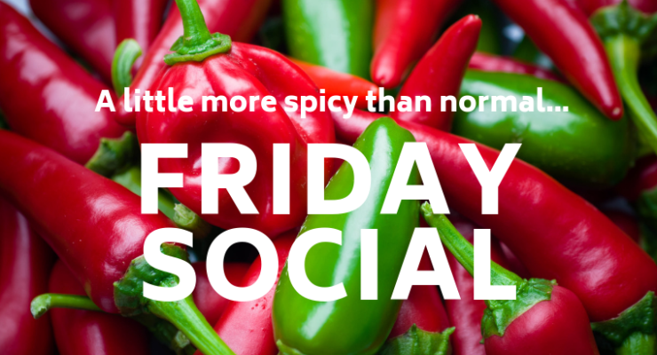 Welcome to #OIW Friday Social on 28th September