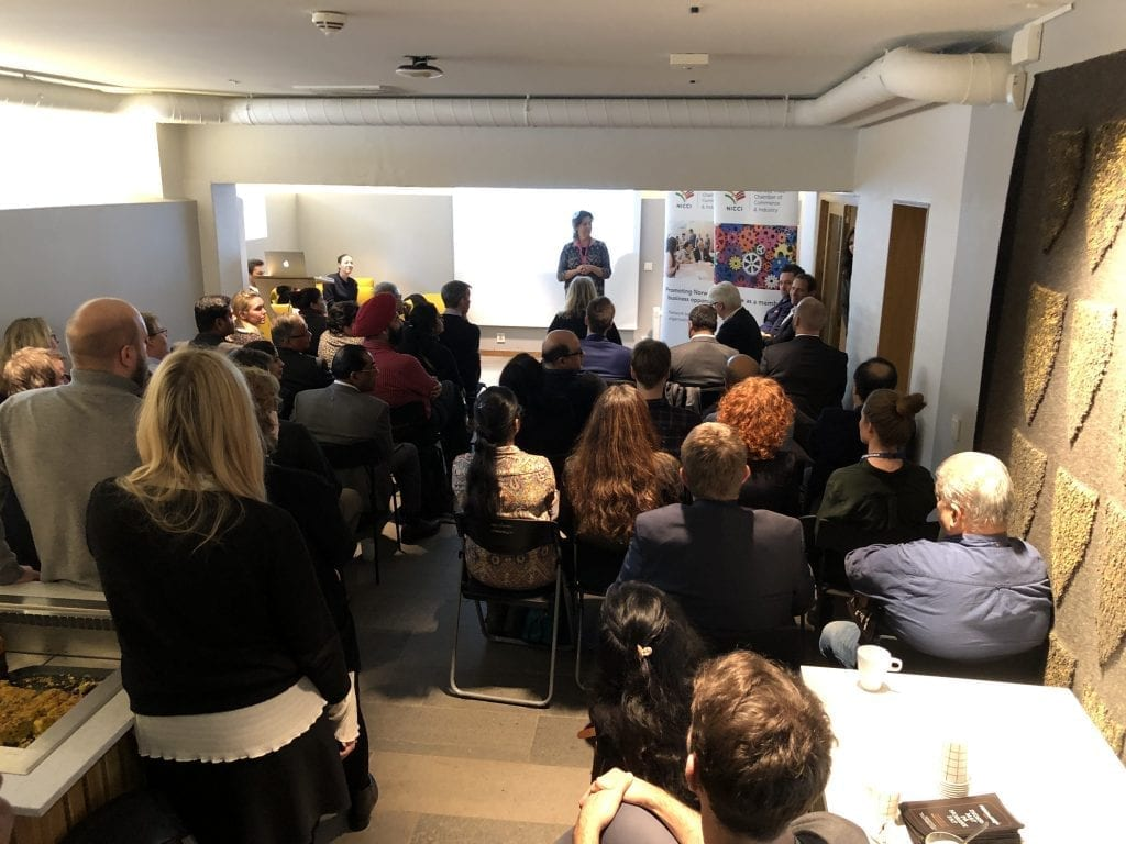 More than full house when NICCI invited to Business Stories